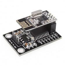 New MCU STC15L204 Wireless Development Board + NRF24L01 Wireless Serial Module