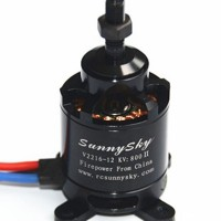 Sunnysky V2216-12 V2216 KV800 Brushless Motor 3.17mm Shaft for Multicopter (new version)