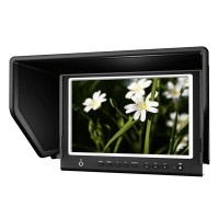 "Lilliput 7"" 664/O/P IPS FPV Monitor Peaking HDMI In Field Monitor w/ Peaking Filter & HDMI input for Canon MARK 5D II III"