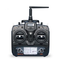Walkera (WK-DEVO10-TXRX) DEVO 10 Devention Telemetry 2.4 GHz Radio with RX1002 Receiver(Right Throttle)