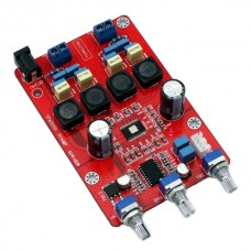 YJ TPA3116D+ 50W+50W Class D-class Amplifier Completed Board w/ Audio Adjustment Function