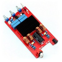 TDA7498 + LM1036 Class D Audio Amplifier Board 100W + 100W