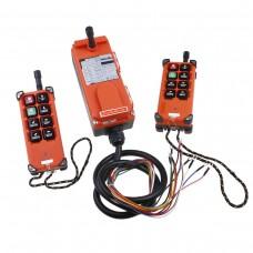 New 2 Transmitters 8 Channels Hoist Crane Radio Remote Control System 65-440V