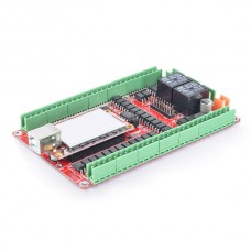 5 Axis 200KHZ Five Axis Stepper Motor Driver Breakout Board USB MACH3 USBCNC Interface Board for CNC Engraving Machine