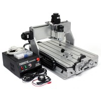 4 Axis 3040Z-4D CNC Router Engraver Engraving Machine Drilling Ball Screw 230W