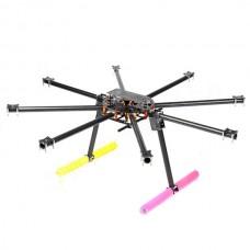 SkyKnight X8-1100 22mm Pure Carbon Fiber FPV Octacopter DSLR Folding Multicopter Kit for 5DII +Landing Skid