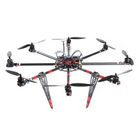 SkyKnight X8-1100 22mm Carbon Fiber Octocopter Multicopter Frame Kit for 5DII FPV Photography