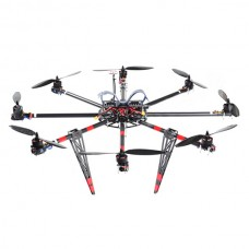SkyKnight X8-1100 25mm Carbon Fiber Octocopter Multicopter Frame Kit for 5DII FPV Photography
