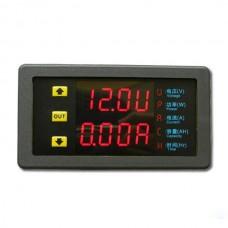 VAM 7520P Adjustable Voltmeter Ammeter 75V 20A Voltage Current Power Multi-function Meter