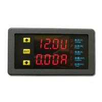 VAM9020 Dual-Digital LED Display VU Meter Voltage Current 20A 90V Voltmeter