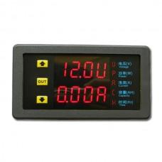 VAM9020 Dual-Digital LED Display VU Meter Voltage Current 20A 90V Voltmeter