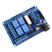 Relay Shield V1.3 5V 4 Channel Relay Shield for Arduino Good