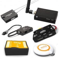 DJI Naza V2 Flight Control +DJI IOSD Mark II / Mark 2+ DATALINK 2.4 GHZ Bluetooth 16 Pionts+CAN Hub Combo for Multicopter Bulid