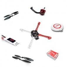 DJI NAZAM Lite Flight Control with GPS Combo+ DJI FPV F450 Quadcopter Motor ESC Propeller ARF Kit
