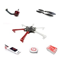 DJI NAZAM Lite Flight Control with GPS Combo+ DJI FPV F550 Quadcopter Motor ESC Propeller ARF Kit