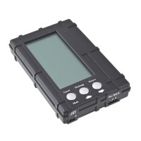 Upgrade RC Model 3in1 2-6S Max. 5W Lipo Li-Po Battery R/C Hobby LCD Balancer -Black