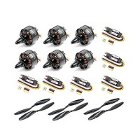 A.K.E L86-400 Motor+ESC+ Propeller Power System Combo Set for Multicopters Hexacopters Flight