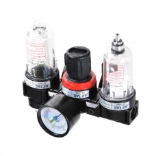 AC2000 Air Source Regulator Lubricator Treatment Unit Pneumatic Lubricator+Filter+Regulator