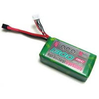 Multi-rotor Airplane CE 11.1V 1300mAh 15C LiPo Battery Pack