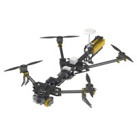 Alien Bumblebee Multirotor FPV Flyman Folding Carbon Frame Kit W/Brushless Gopro Gimbal