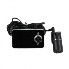 Dual Cameras 2.7 Inch TFT Display 140 Degree Lens 5.0 MP CMOS Sensor Car DVR