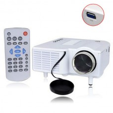 Mini Multimedia LED Projector Home Cinema Theater Support AV VGA USB SD HMDI HOT