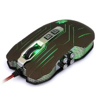 Applied 9D Sword Master X9 2400DPI Optical wired Gaming Mouse for DotA FPS -Color Assorted