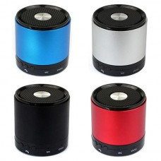 Applied Mini Portable 3W Bluetooth HiFi Bass Stereo Metal Handsfree Mic Speaker