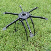 FC Model S650 650MM Folding Frame Hex rotor Hexacopter Multi-copter w/ Tall landing Gear