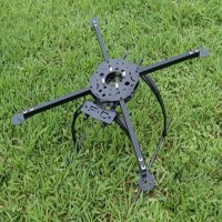 FC Model X580 580MM Folding Quadcopter Frame Quad rotor Quad Multi-copter w/ Tall landing Gear