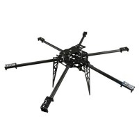 FC Model T680 3K Pure Carbon Fiber Hexacopter 680mm FPV Multicopter Aircraft Frame Kit