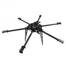 FC Model T680 3K Pure Carbon Fiber Hexacopter 680mm FPV Multicopter Aircraft Frame Kit