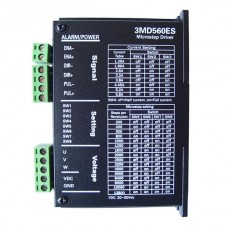 3 phase Stepper Motor Driver 3MD560ES For NEMA 17/23/34 Stepping DC20-50V 1.35-5.8A for Engraving Machine