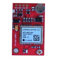 Red Ublox NEO-6M GPS Module for Aircraft Flight Controller Arduino MWC IMU APM2