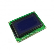 Graphic Matrix Blue LCD Module Display LCM 12864 Compatible with ST7920 Controller