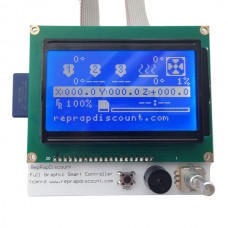 Smart Controller RAMPS 1.4 LCD 12864 LED Turn On Control For 3D Printer