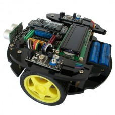 51 MCU C51 Smart Car R2 Robot Car Platform Car Chassis with STC89C52 Development Board Learning Board
