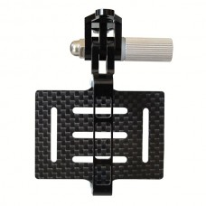 Gopro Hero 2 3 Universal FPV Camera Mount Gimbal for DJI Phantom Quadcopter Carbon Fiber Version