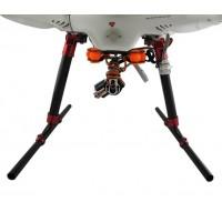 180mm Height Carbon Fiber Landing Skid Gear Upgrade Kit for DJI Phantom FPV Quadcopter