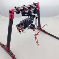 200mm Universial Carbon Fiber Landing Skid Gear Upgrade Kit for FPV Quadcopter Hexacopter