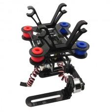 2 Axis Gopro Brushless Motor Camera Gimbal for Gopro 3 DJI Phantom Controller PTZ