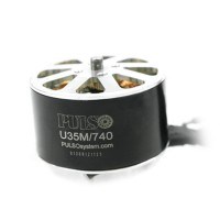PULSO Large Torque U35M KV950 12N14P Brushless Motor for FPV Hexacopter Multicopter