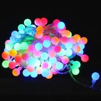 Colorful 10m 100 LED Xmas Tree Christmas Wedding Party Ball RGB Bulb String Lights