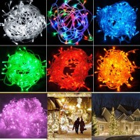 Brand New 10M 100 LED String Fairy Lights Christmas Wedding Party Xmas Light