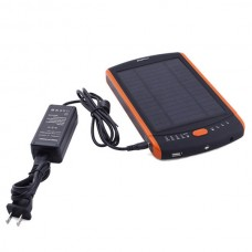 23000mAh Solar Panel USB Battery Charger for 12/16/19V Laptop/ phones/iPad dca