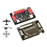 APM2.6 ArduPilot Mega 2.6 APM Flight Control Board Exterbal Compass w/ Protective Case for Multicopter Airplane