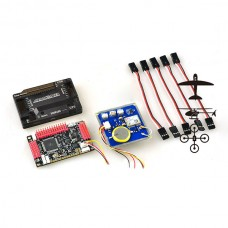 APM2.6 ArduPilot Mega 2.6 APM Flight Control Board Exterbal Compass +GPS & Protective Case for Multicopter Airplane