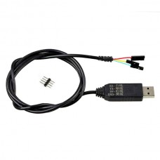USB to TTL Serial Cable Adapter FTDI Chipset PL2303HX Cable for Ublox GPS & Remzibi OSD