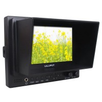 "Lilliput 5"" 569/P Field Monitor + Bracket +Shoe Mount Peaking Exposure Histogram FPV HD Monitor"