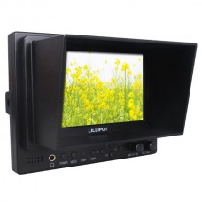 "Lilliput 5"" 569/P Field Monitor + Bracket +Shoe Mount Peaking Exposure Histogram FPV HD Monitor"